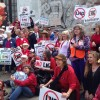 Hundreds rally to oppose LNG Exports in Oregon on May 26th