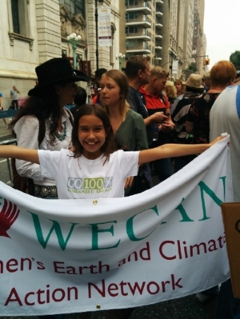 People's Climate March Go 100 percent renewable