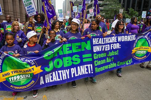 SEIU 1199_Peoples Climate March_Sept 21, 2014