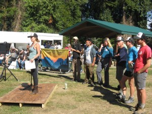 Hike the Pipe hikers tell of their experiences hiking the 232 mile proposed Pacific Connector Gas Pipeline path.